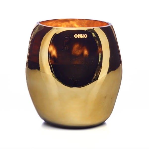 ONNO Collection Duftkerze Cape Shine Gold Muse L 18x20 cm Gold Muse L 18x20 cm - Kerze Brenndauer ca. 300 Stunden - ON518 Selection by Annhild Ellwanger