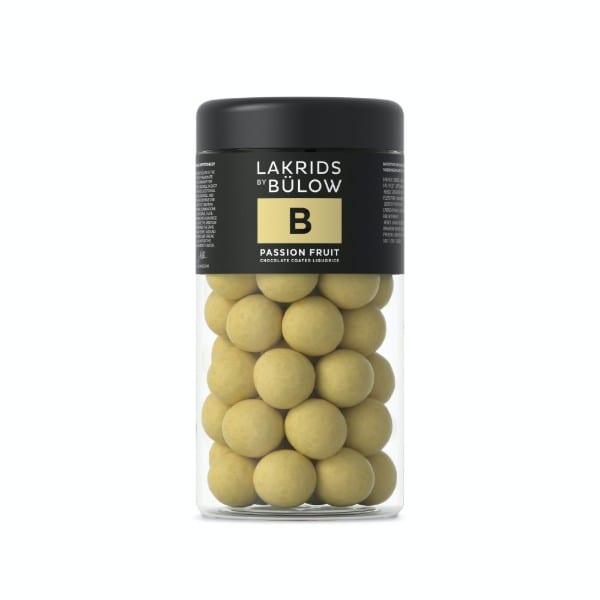 LAKRIDS BY BÜLOW - No B – PASSION FRUIT CHOCOLATE COATED LIQUORICE LAKRITZ