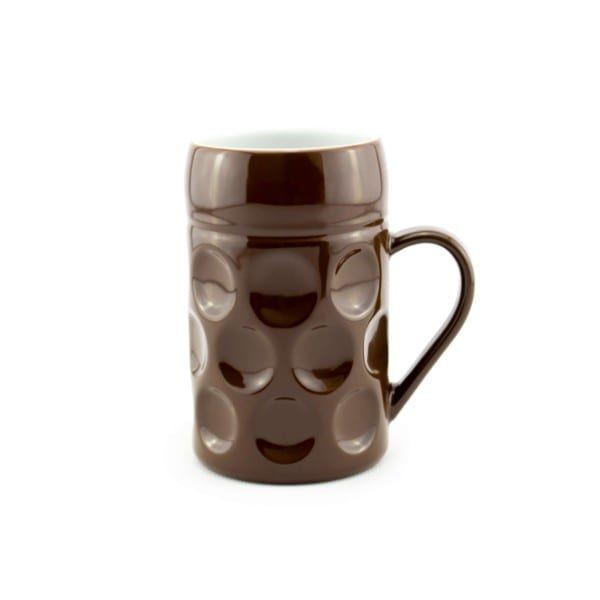 Champagner Krug - Der kleine MUC - Chocolate Bussal, Tasse Becher braun kleiner Maßkrug Kaffee Kakao Selection by Annhild Ellwanger