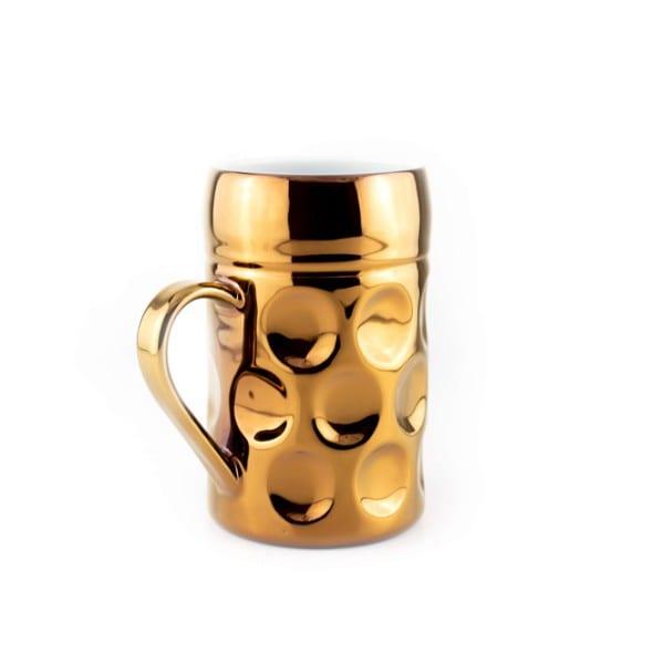 Champagner Krug -Der kleine MUC- Wiesn Diva rosegold, Tasse Becher kleiner Maßkrug Kaffee Kakao Selection by Annhild Ellwanger