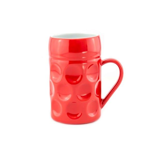 Champagner Krug - Der kleine MUC - Strawberry Mary, Tasse Becher rot kleiner Maßkrug Kaffee Kakao Selection by Annhild Ellwanger