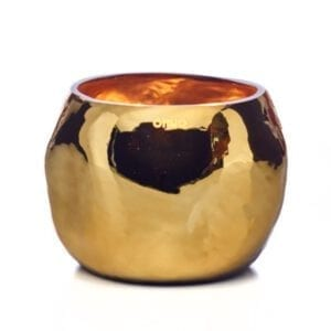 ONNO Collection Duftkerze Cape Shine Gold Muse M 19x14cm